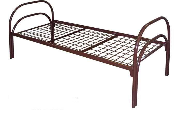 Односпальная металлическая кровать