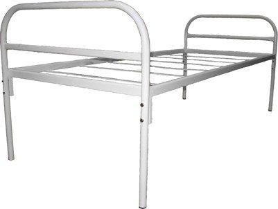Кровать на металлической основе