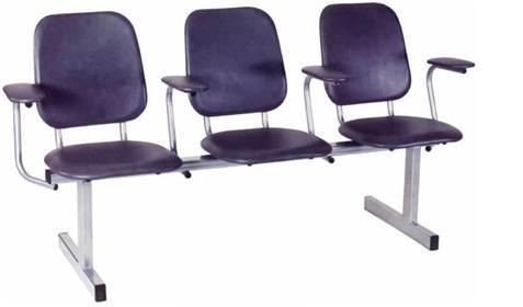 Секция стульев с  пюпитрами из ЛДСП, ДСП с пластиком, МДФ