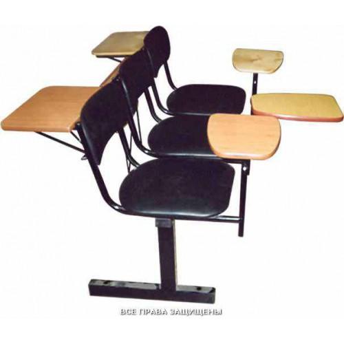 Секция стульев с  передними и задними столиками