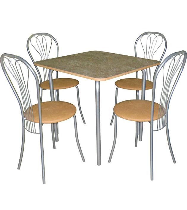 Обеденная группа стол и 4 венских стула